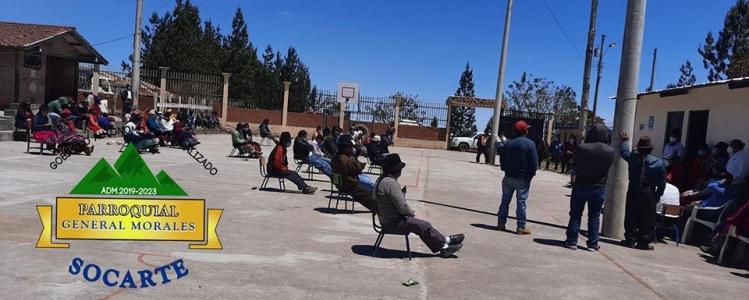 COORDINACION ENTRE GAD PARROQUIAL ORGANIZACION UPOIS PARA LA TERMINACION DE APERTURA VIAL DE LA COMUNIDAD POTRERILLOS - CHINIPAMBA